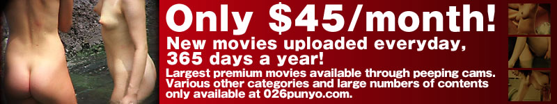Only $45/month! New movies uploaded everyday, 365 days a year! PUNYO in the Public Bath Join us Today!!